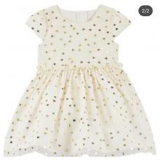Платье Carter's для девочек (бежевое)