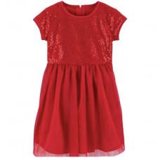 Платье Carter's для девочек (красное)