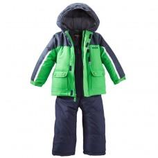 Комбинезон зимний Carter's для мальчиков (темно-синий с зеленым)