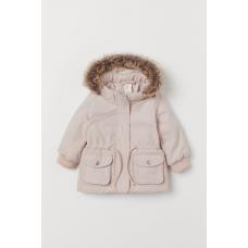 Куртка-парка НМ для девочек (розовая)