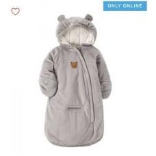 Комбинезон зимний цельный Carter's для малыша (серый Теди)